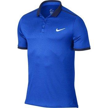 koszulka tenisowa męska NIKE ADVANTAGE SOLID POLO / 728947-439