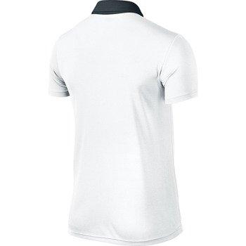 koszulka tenisowa męska NIKE BASELINE POLO / 596582-100