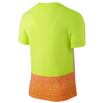 koszulka tenisowa męska NIKE CHALLENGER CREW PRINTED / 648243-702