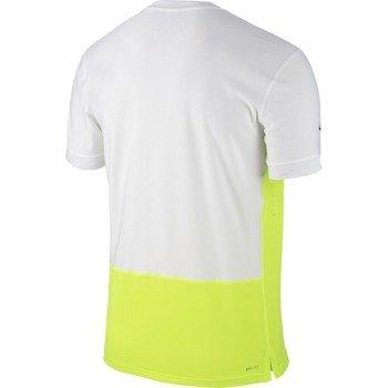koszulka tenisowa męska NIKE CHALLENGER PREMIER RAFA CREW / 646097-702