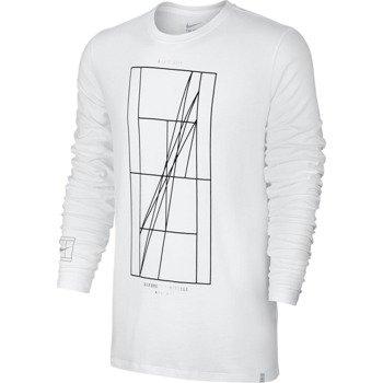 koszulka tenisowa męska NIKE COURT FRENCH OPEN AGASSI LONG SLEEVE / 777873-100