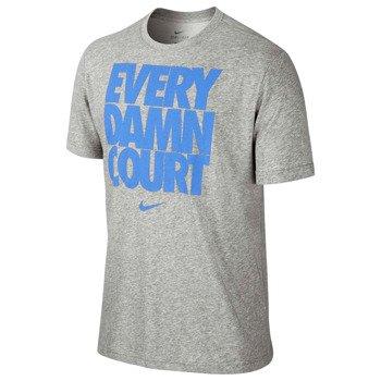 koszulka tenisowa męska NIKE EVERY DAMN COURT TEE 2 / 639421-063