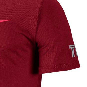 koszulka tenisowa męska NIKE PRACTICE SHORTSLEEVE TOP / 619811-687