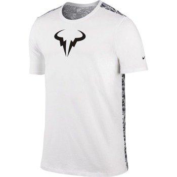 koszulka tenisowa męska NIKE RAFA SHORTSLEEVE CREW TEE / 688582-101