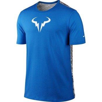 koszulka tenisowa męska NIKE RAFA SHORTSLEEVE CREW TEE / 688582-453