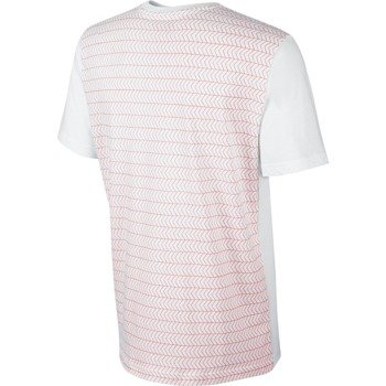 koszulka tenisowa męska NIKE ROGER SHORTSLEEVE V-NECK TEE / 688576-100