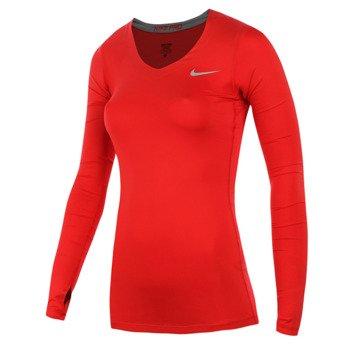 koszulka termoaktywna damska NIKE PRO LONGSLEEVE / 589368-660