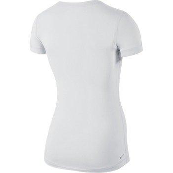 koszulka termoaktywna damska NIKE PRO SHORTSLEEVE V-NECK / 589370-100