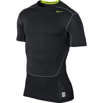 koszulka termoaktywna męska NIKE PRO COMBAT CORE HYPERCOOL COMPRESSION SHORTSLEEVE / 636147-011