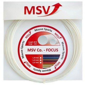 naciąg tenisowy MSV CO.-FOCUS 12M WHITE