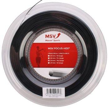 naciąg tenisowy MSV FOCUS HEX 200M BLACK