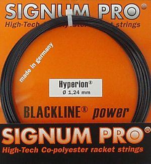naciąg tenisowy SIGNUM PRO HYPERION BLACK 12M