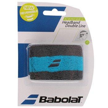 opaska tenisowa BABOLAT REVERSIBLE HEADBAND DOUBLE LINE / 45S1572-175