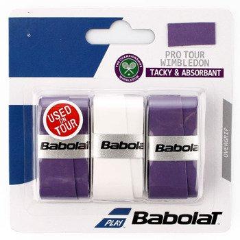owijka tenisowa BABOLAT WIMBLEDON TOUR X3 / 653032-167