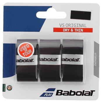 owijki tenisowe BABOLAT VS GRIP czarne x3