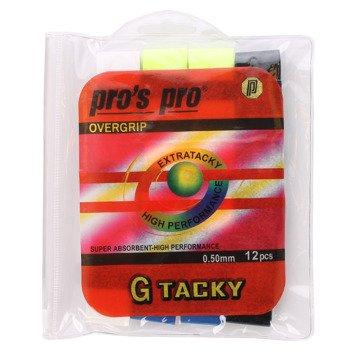 owijki tenisowe PRO'S PRO OVERGRIP G TACKY MIX X12 / TOPP-069