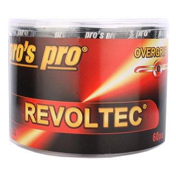owijki tenisowe PRO'S PRO REVOLTEC GRIP OVERGRIP x60 0,60MM / TOPP-093