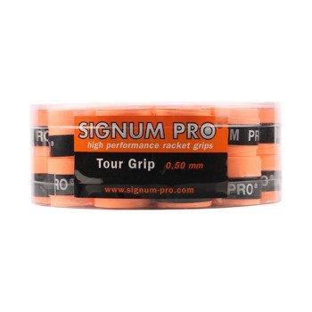 owijki tenisowe SIGNUM PRO TOUR GRIP X30 BOX ORANGE / TOS-0006