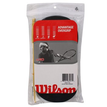 owijki tenisowe wierzchnie WILSON ADVANTAGE OVERGRIP x30 black