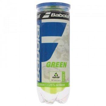 piłki tenisowe BABOLAT STAGE 1 green (3 szt.)