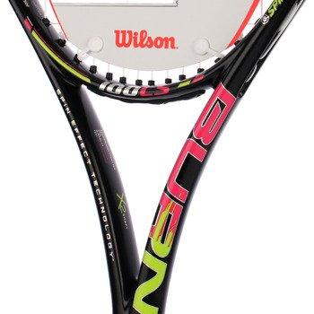 rakieta tenisowa WILSON BURN PINK 100 LS / WRT72390
