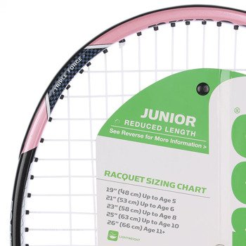 rakieta tenisowa juniorska PRINCE PINK 25 / 7T20V2051