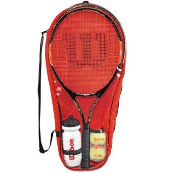 rakieta tenisowa juniorska WILSON BURN 25 STARTER SET / WRT219100