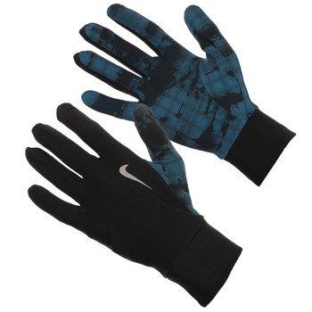 rękawiczki do biegania męskie NIKE THERMAL NYC CAMO RUNNING GLOVES / NRG62044