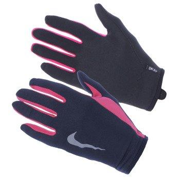 rękawiczki i opaska do biegania damskie NIKE RUN DRI-FIT HEADBAND/GLOVE SET / NRC03-067