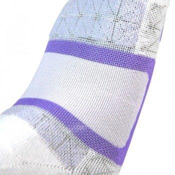 skarpety damskie NIKE TRAINING LOW CUT TAB /1 para/ white/purple chalk
