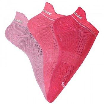 skarpety damskie REEBOK MERYL INSIDE pink /3pary/