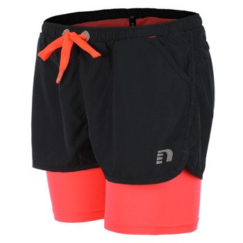 spodenki do biegania damskie NEWLINE IMOTION 2LAY SHORTS
