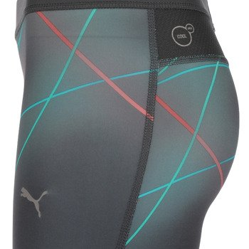 spodenki do biegania damskie PUMA GRAPHIC LONG TIGHT / 511948-03