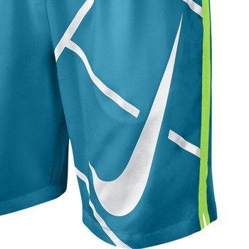 """spodenki tenisowe chłopięce NIKE COURT 8"""" GFX SHORT / 642070-407"""