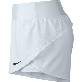 spodenki tenisowe damskie NIKE ACE SHORT / 728783-100