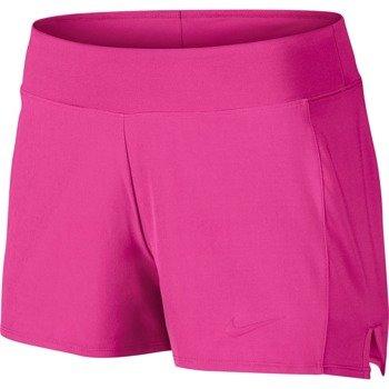 spodenki tenisowe damskie NIKE BASELINE SHORT / 728785-639