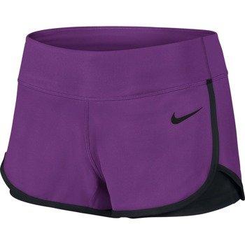 spodenki tenisowe damskie NIKE COURT SHORT / 646175-513