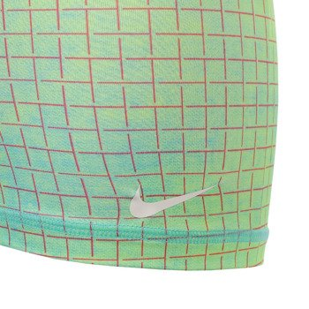 spodenki tenisowe damskie NIKE SLAM PRINTED SHORT / 646200-401