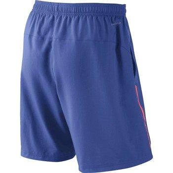 "spodenki tenisowe męskie NIKE POWER 9"""" WOVEN SHORT / 523247-480"
