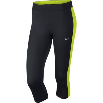 spodnie do biegania damskie 3/4 NIKE DRI-FIT ESSENTIAL CAPRI / 645603-011