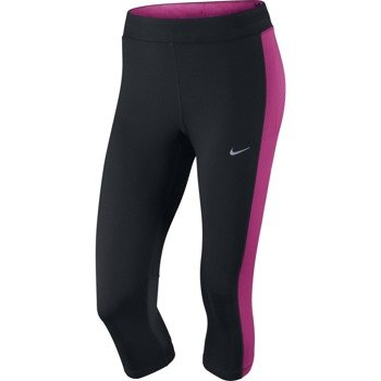 spodnie do biegania damskie 3/4 NIKE DRI-FIT ESSENTIAL CAPRI / 645603-016