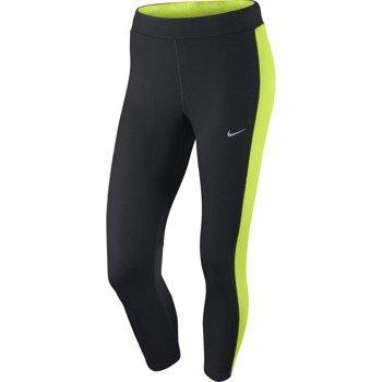 spodnie do biegania damskie 3/4 NIKE DRI-FIT ESSENTIAL CROP / 667623-011