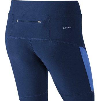 spodnie do biegania damskie 3/4 NIKE FILAMENT CAPRI / 519841-456