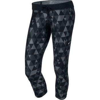spodnie do biegania damskie 3/4 NIKE PRINTED RELAY CROP