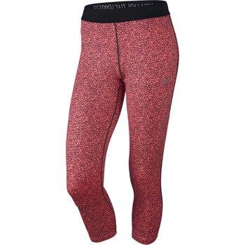 spodnie do biegania damskie 3/4 NIKE PRINTED RELAY CROP / 645612-676