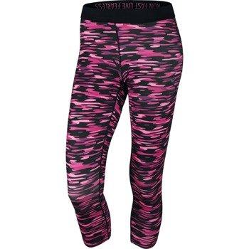 spodnie do biegania damskie 3/4 NIKE PRINTED RELAY CROP / 686063-667