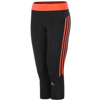 spodnie do biegania damskie ADIDAS RESPONSE 3/4 TIGHT / D85484
