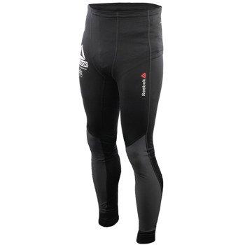 spodnie do biegania męskie REEBOK OBSTACLE TERRAIN RACING COMPRESSION TIGHT / S94296
