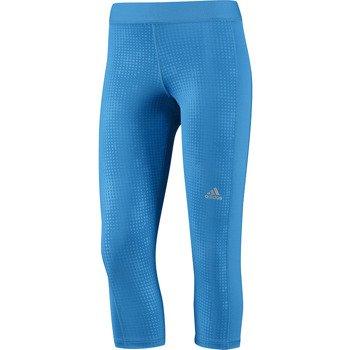 spodnie sportowe damskie 3/4 ADIDAS TECHFIT CAPRI TIGHT PRINT / F81960