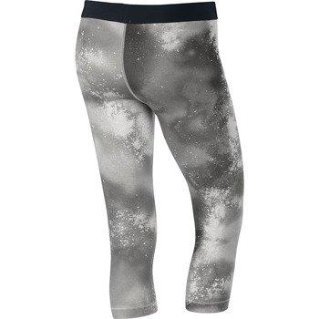 spodnie sportowe damskie 3/4 NIKE PRO SPLATTER CAPRI / 630608-082